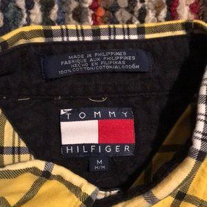 🚧🔥Vintage Tommy Hilfiger Plaid Button Down 🚧🔥